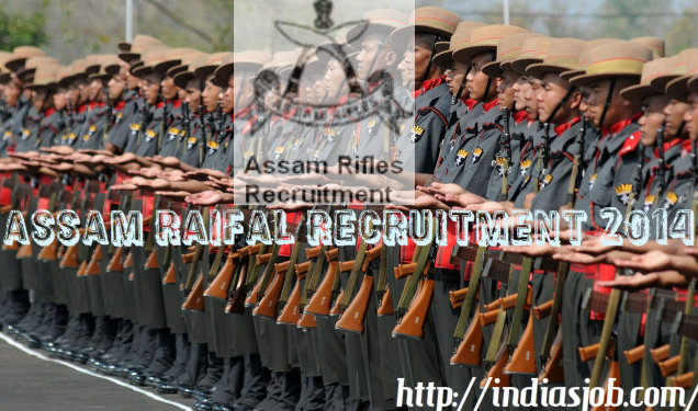 assam raifal recruitment 2014