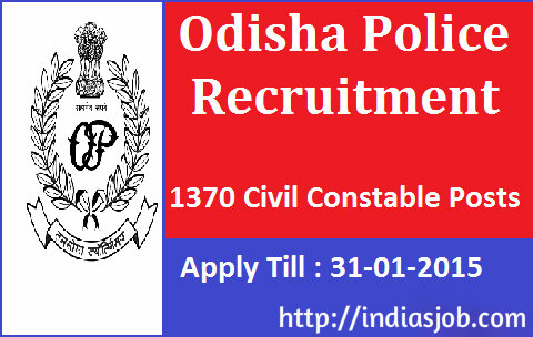 Odisha-Police-Recruitment