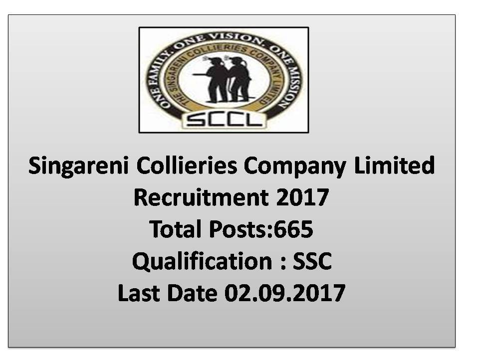 Singareni Collieries Company Limited (SCCL) Jobs