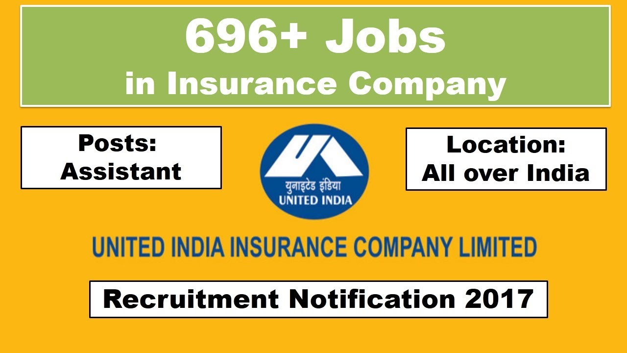 United India Insurance company (UIIC) Jobs
