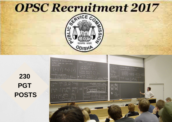 opsc-recruitment-Post Graduate Teachers