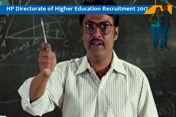 Directorate of Higher Education indiasjob