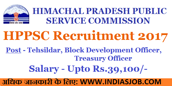 HPPSC Recruitment