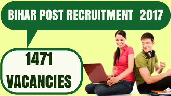 Bihar Post Office Requirement indiasjob